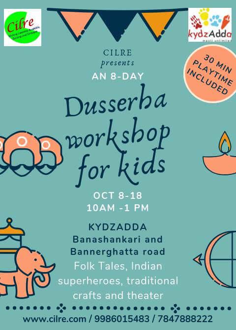 KydzAdda Dussehra Workshop for Kids Cover Image