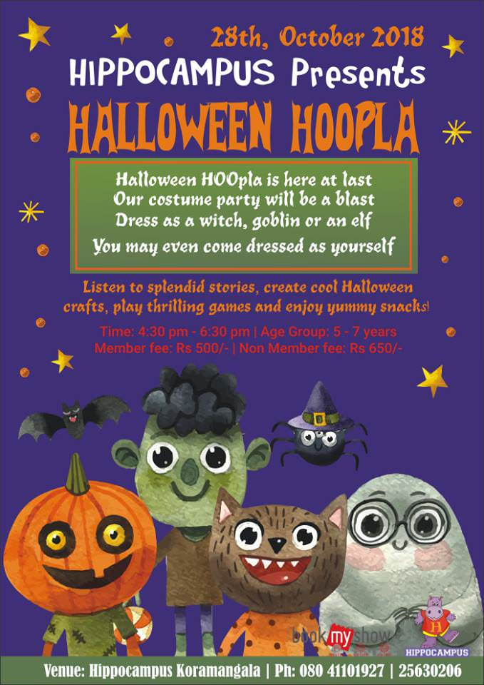 Halloween Hoopla Cover Image