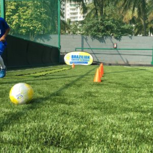 Brazilian Soccer School Football Ground
