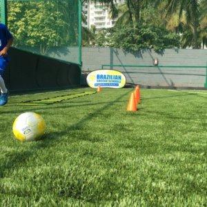 Brazilian Soccer School Football Ground