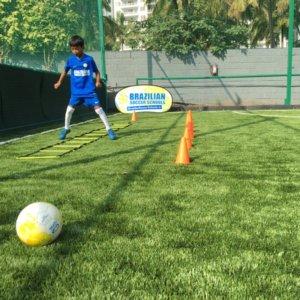 Brazilian Soccer School Children's Coaching