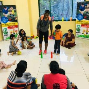 Toddler Soccer Class at Socatots