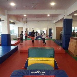 Aerial Zone Gymnastic Facility