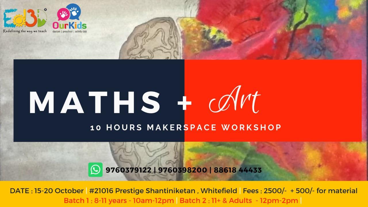 Ed3D Math + Art Dussehra Camp Cover Image