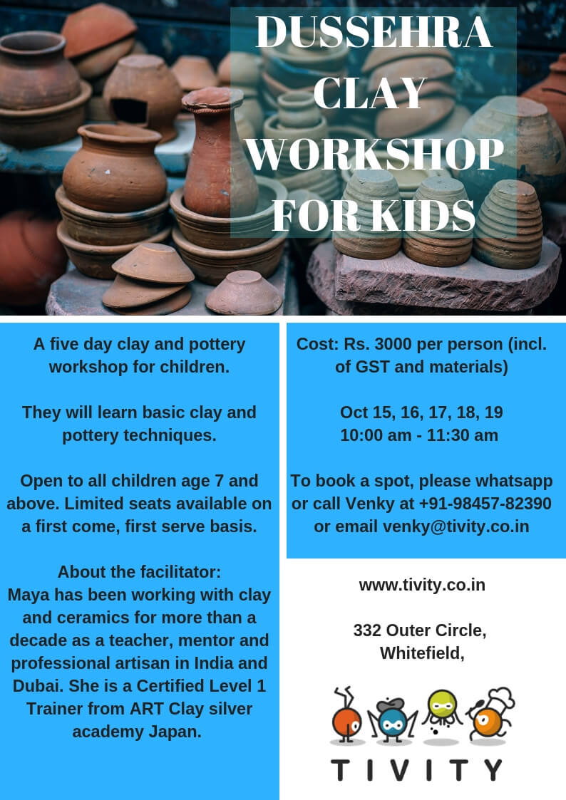Dussehra Clay Workshop for Kids Cover Image