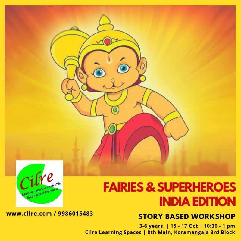 Fairies & Superheroes: Story Based Workshop Cover Image