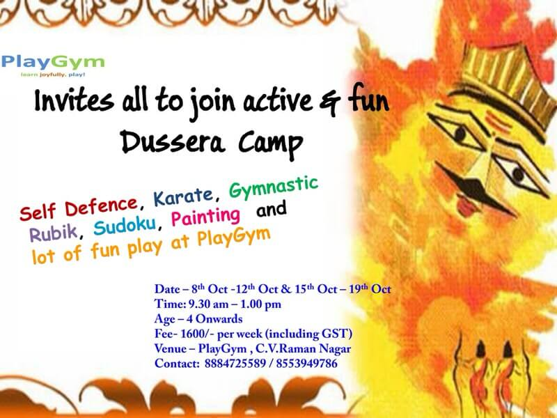 PlayGym Dussehra Camp Cover Image
