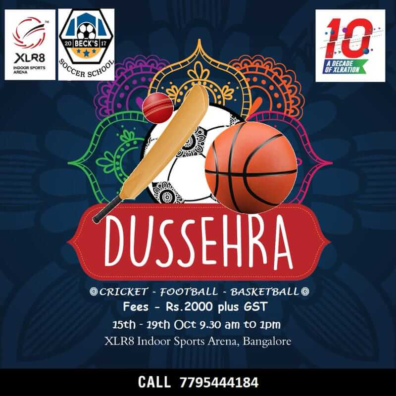 XLR8 Dussehra Camp 2018 Cover Image