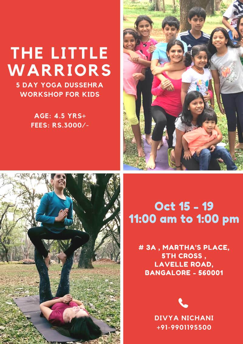 Dussehra Yoga Workshop for Kids Cover Image