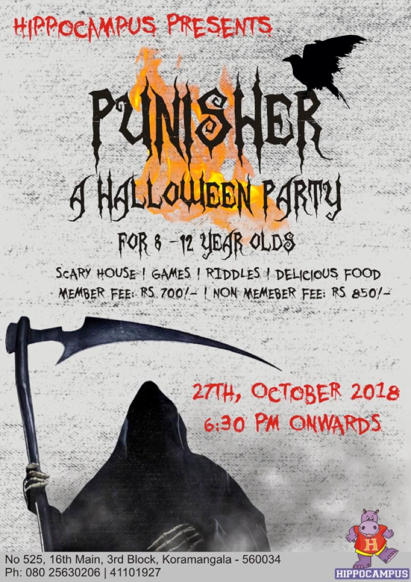 Punisher: A Halloween Party Cover Image