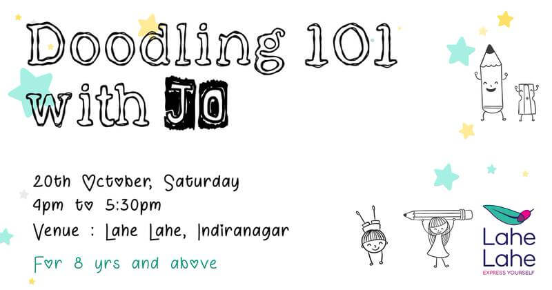 Doodling 101 with Jo Cover Image