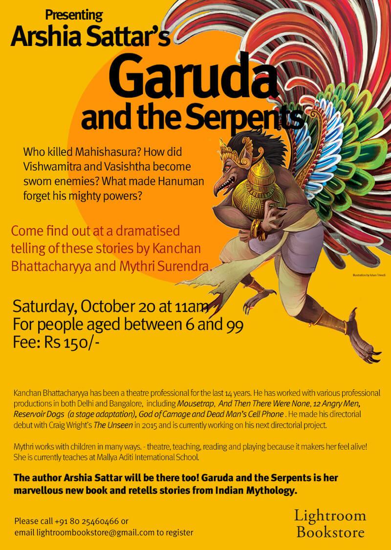 Garuda & the Serpents: Dussehra Storytelling Cover Image