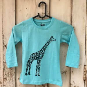 The Talking Canvas Giraffe Tshirt