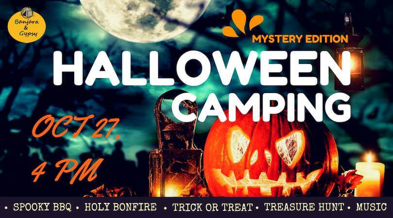 Halloween Camping at Mystery Place Cover Image