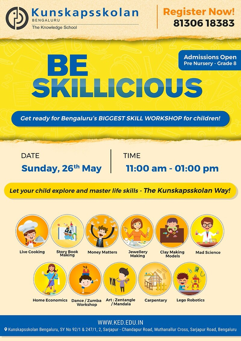 Be Skillicious Cover Image