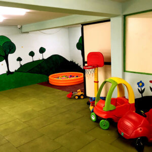 Soft Play Space at Small World Preschool
