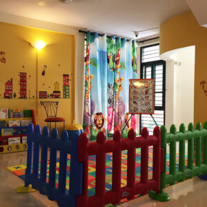Reading Space at Small World Preschool