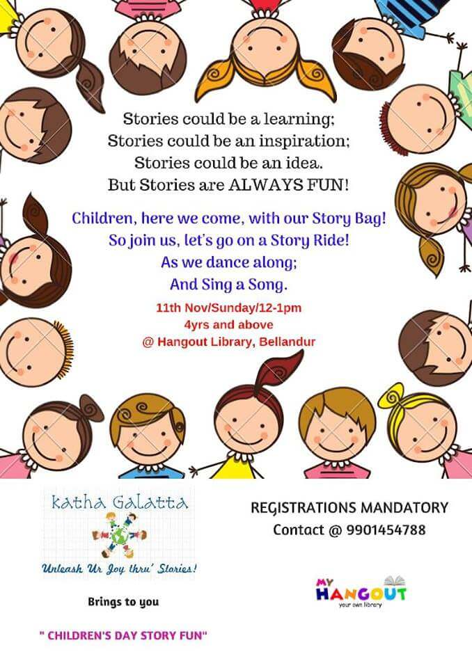 Children's Day Story Fun Cover Image