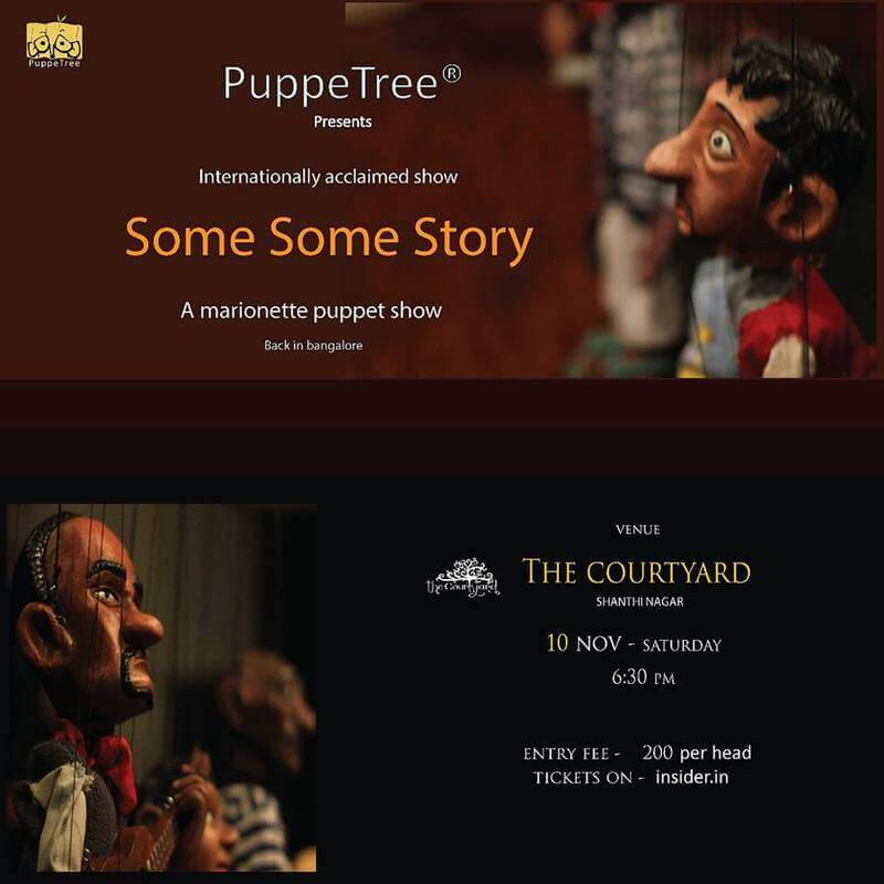 Some Some Story – a Puppetry Show Cover Image