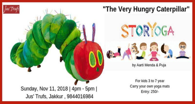 Story Yoga: A Very Hungry Caterpillar Cover Image