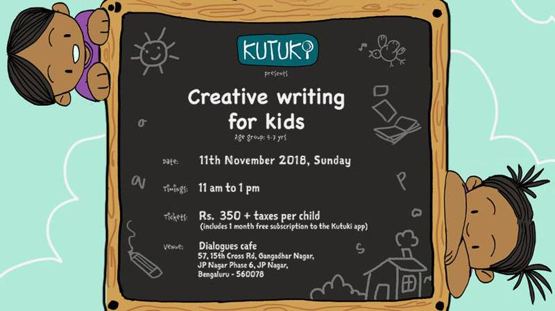 Creative Writing Workshop for Kids Cover Image