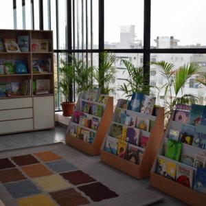 Reading Corner at Pep School V2