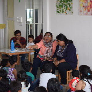 Storytelling Session at Pep School V2