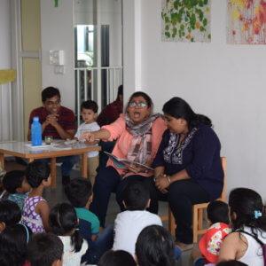 Storytelling Session at Pep School V2