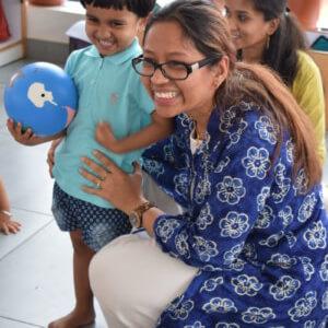 Teacher Student bonding at Pep School V2