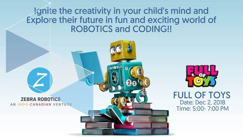 Robotics Workshop At Full Of Toys Jayanagar Bangalore