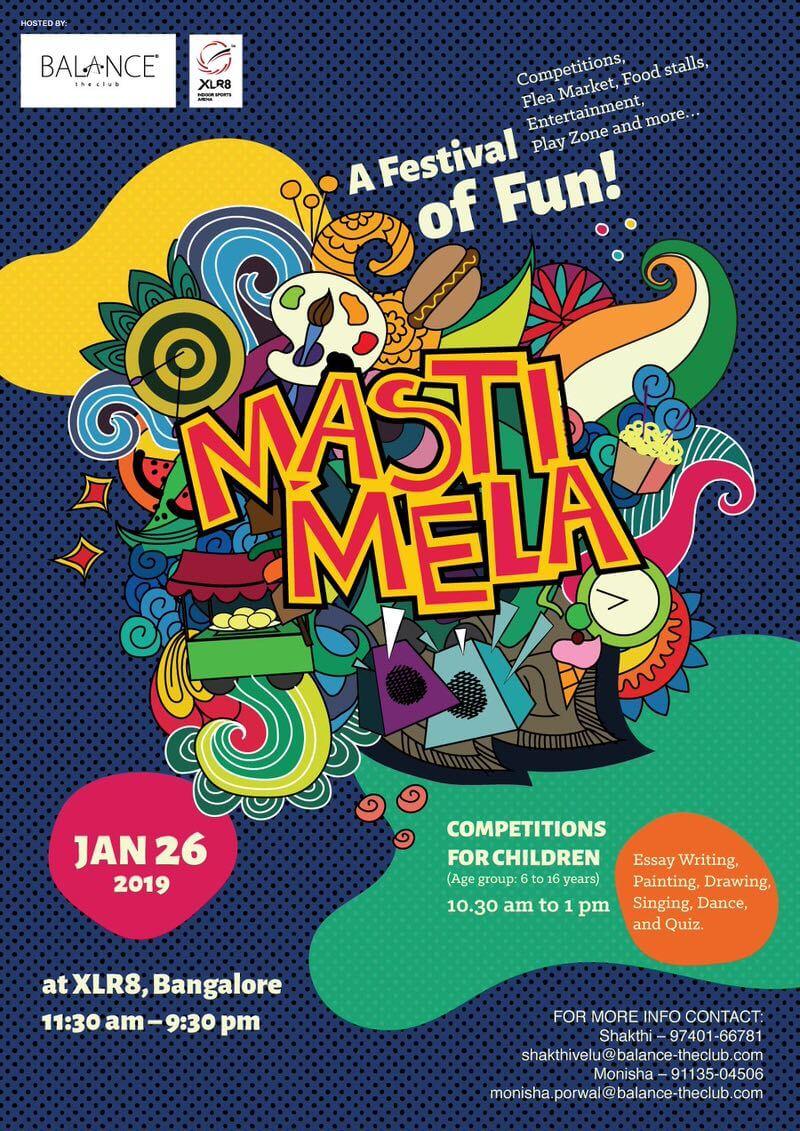 XLR8 Masti Mela Cover Image