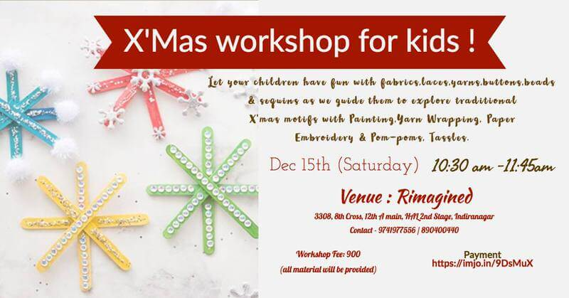 X'Mas Decor Workshop for Kids Cover Image