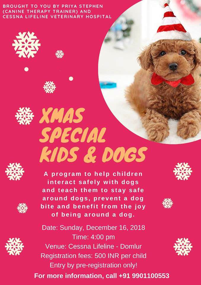 Xmas Special Kids & Dogs Program Cover Image