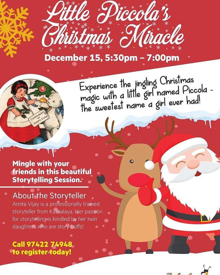 Storytime – Little Piccola's Christmas Miracle Cover Image