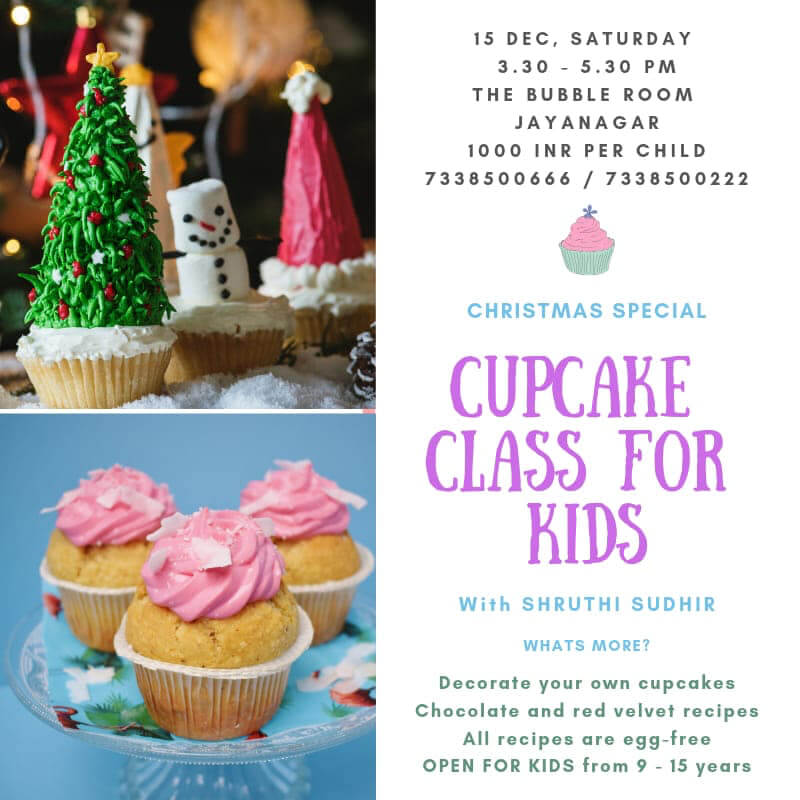 Kids Cupcake Class: Christmas Special Cover Image