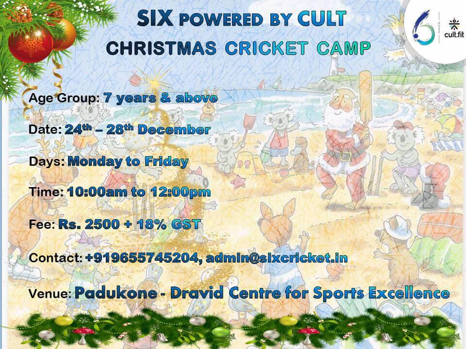 SIX Christmas Cricket Camp Cover Image