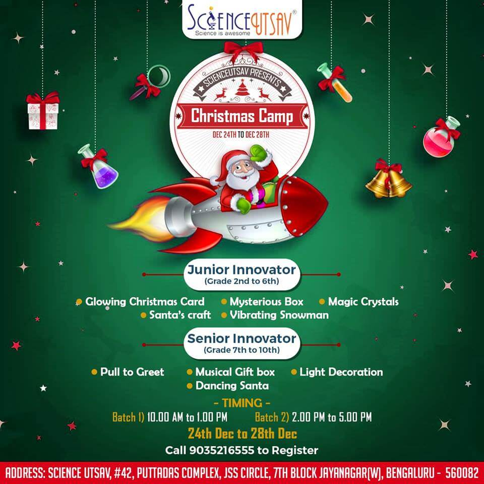 ScienceUtsav Winter Christmas Camp Cover Image