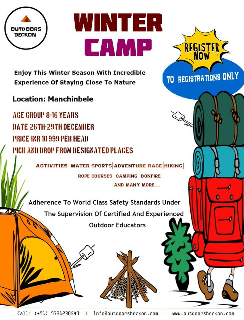 Outdoors Beckon Winter Camp Cover Image