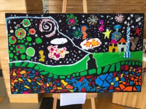 Art Activity by students