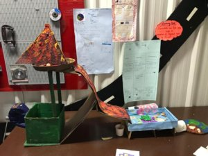 Science Model created by Students
