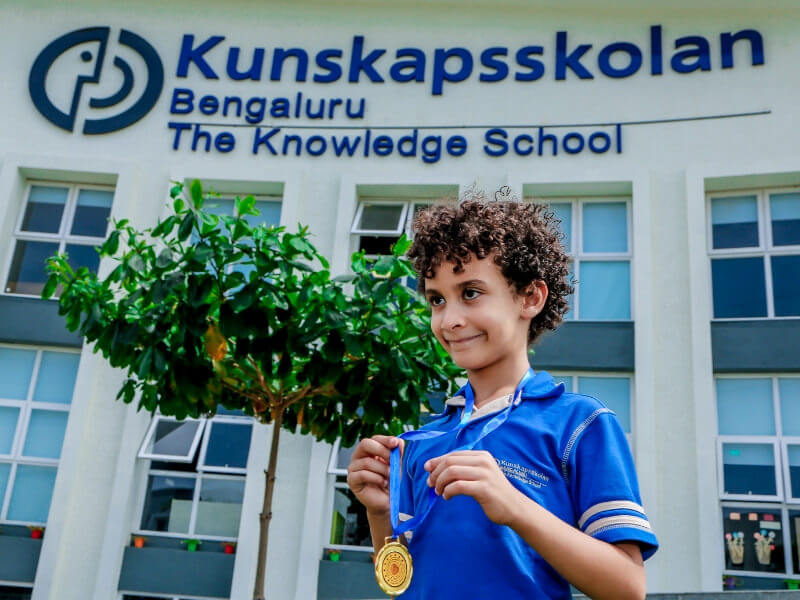 Nobel Day Celebration at Kunskapsskolan Bengaluru