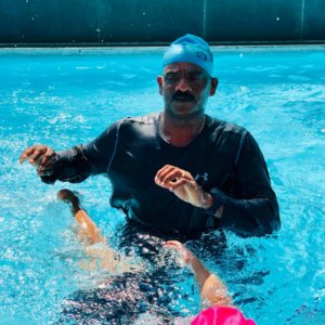 Kids Swimming at RxDx Malleshwaram