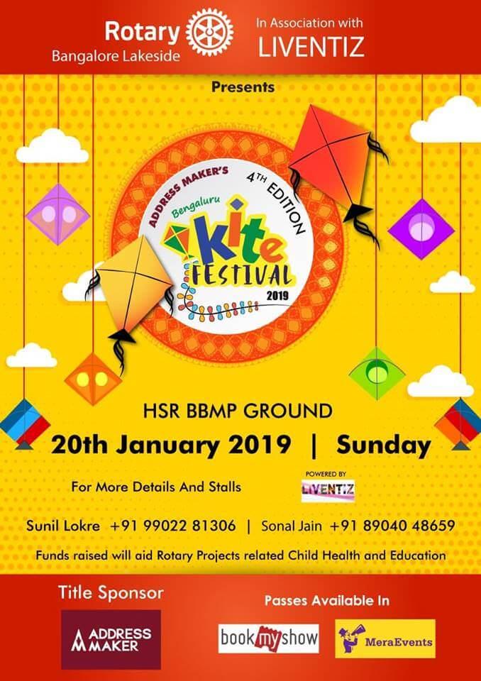 Rotary Bengaluru Kite Festival 2019 Cover Image