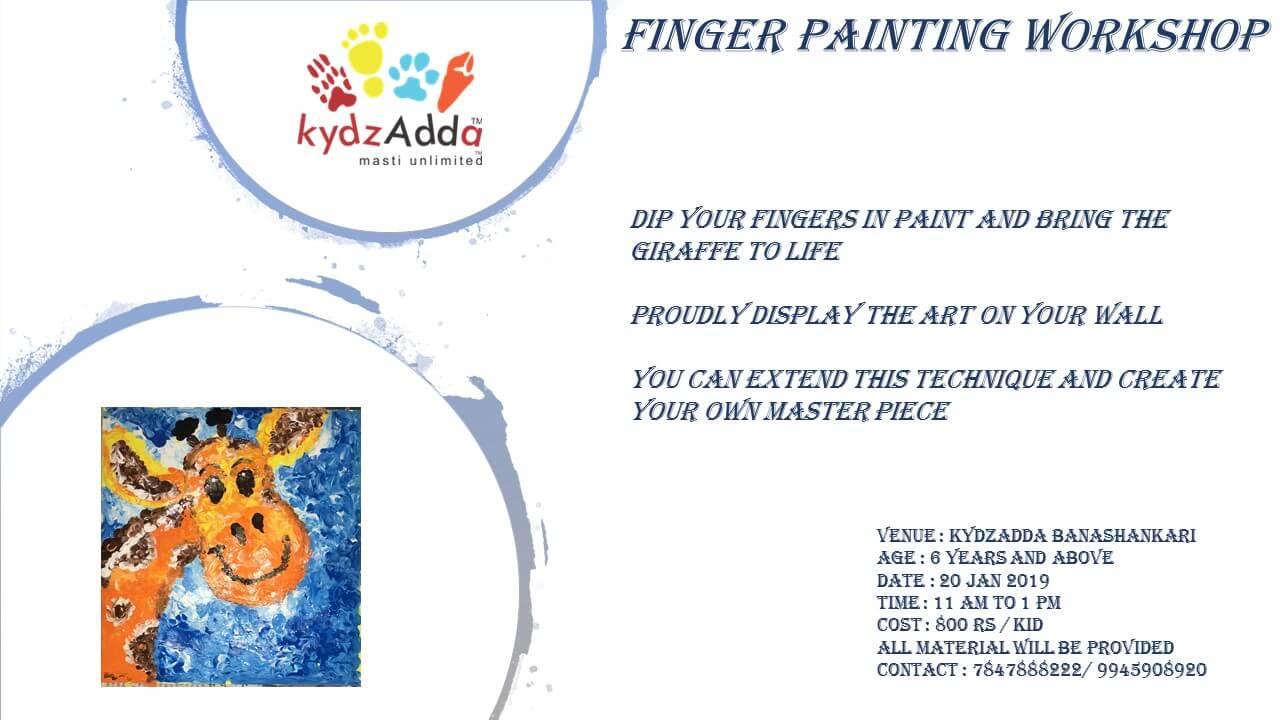 Finger Painting Workshop Cover Image