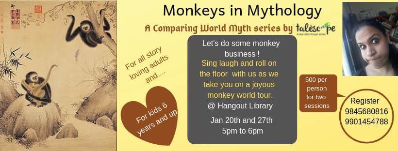 Monkeys in Mythology Cover Image