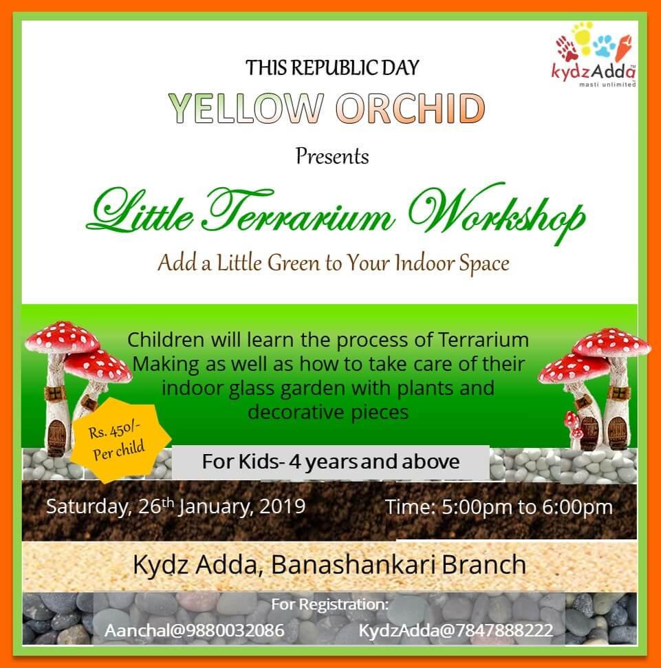 Little Terrarium Workshop Cover Image