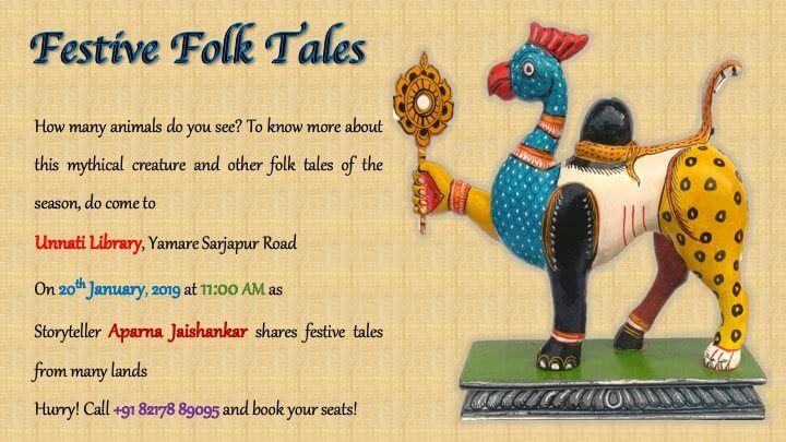Festive Folk Tales Cover Image