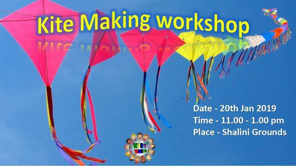 Kite Making Workshop & Kite Flying Cover Image