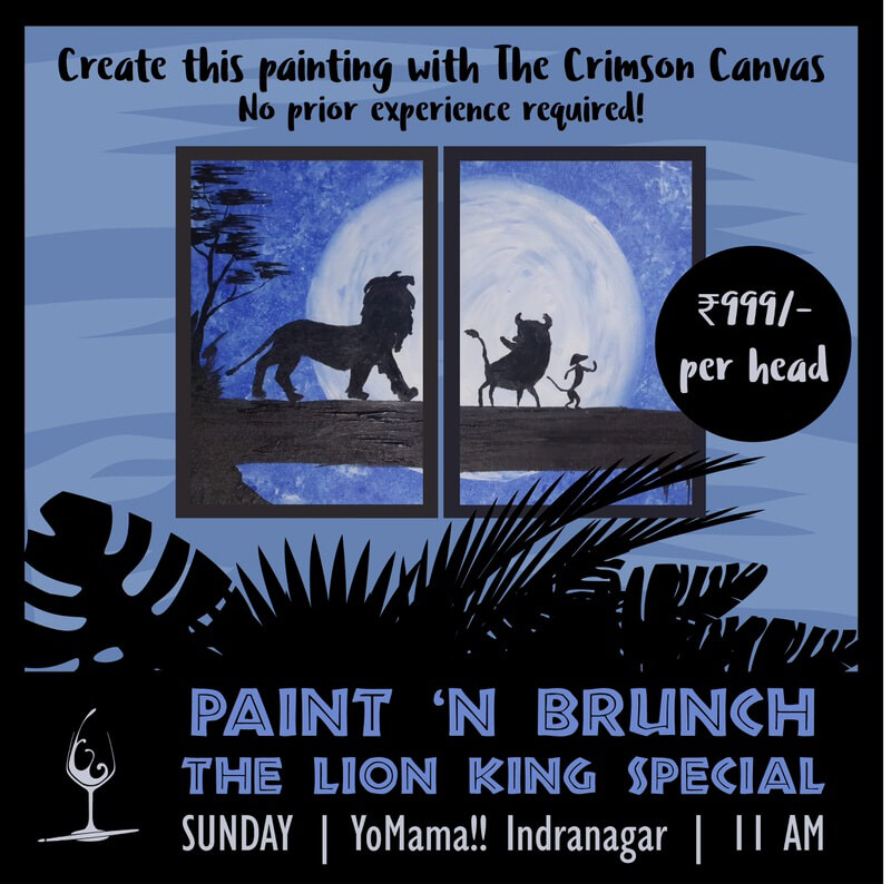 Paint 'N Brunch: The Lion King Special Cover Image