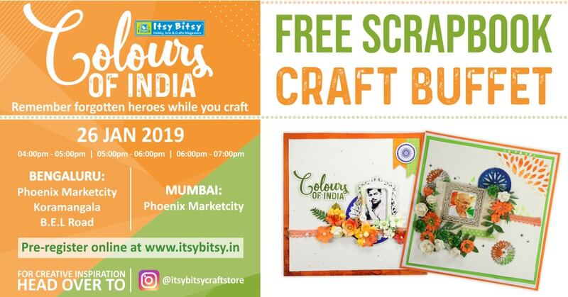 Colours of India: Scrapbooking Event Cover Image